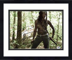 Danai Gurira The Walking Dead Signed 11X14 Photo PSA/DNA #W79800