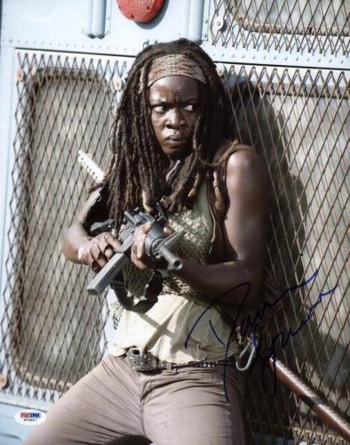 Danai Gurira The Walking Dead Signed 11X14 Photo PSA/DNA #W79807