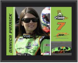 "Danica Patrick 10"" x 13"" Sublimated Plaque - Mounted Memories"
