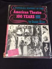 Daniel Blum American Theatre 100 Years Signed Autograph Book