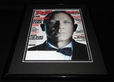 Daniel Craig Framed 11x14 ORIGINAL 2012 Rolling Stone Magazine Cover James Bond