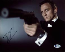 Daniel Craig James Bond 007 Signed 8X10 Photo Autographed BAS #B41148
