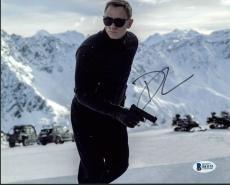 Daniel Craig James Bond 007 Signed 8X10 Photo Autographed BAS #B41152
