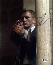 Daniel Craig James Bond 007 Signed 8X10 Photo Autographed BAS #B41153