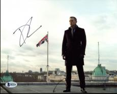Daniel Craig James Bond 007 Signed 8X10 Photo Autographed BAS #B41154