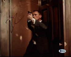 Daniel Craig James Bond 007 Signed 8X10 Photo Autographed BAS #B41156