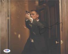 Daniel Craig James Bond Autographed Signed 8x10 Photo Authentic PSA/DNA AFTAL