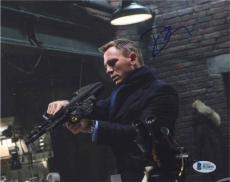 Daniel Craig James Bond Autographed Signed 8x10 Photo BAS COA AFTAL