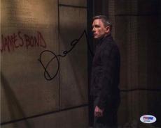 Daniel Craig James Bond SPECTRE Autographed Signed 8x10 Photo Certified PSA/DNA