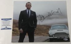 Daniel Craig Signed 11x14 Photo James Bond 007 Authentic Autograph Beckett Coa A