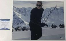 Daniel Craig Signed 11x14 Photo James Bond 007 Authentic Autograph Beckett Coa C