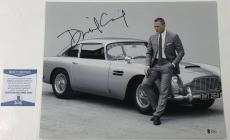 Daniel Craig Signed 11x14 Photo James Bond 007 Authentic Autograph Beckett Coa D