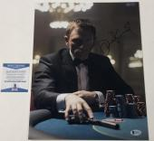 Daniel Craig Signed 11x14 Photo James Bond 007 Authentic Autograph Beckett Coa F