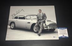 Daniel Craig Signed Auto James Bond 007 11x14 Bas Beckett Coa  13