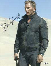 Daniel Craig Signed Auto James Bond 007 11x14 Bas Beckett Coa  15