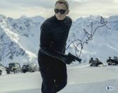 Daniel Craig Signed Auto James Bond 007 11x14 Bas Beckett Coa  2