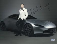 Daniel Craig Signed Auto James Bond 007 11x14 Bas Beckett Coa  23