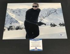 Daniel Craig Signed Auto James Bond 007 11x14 Bas Beckett Coa  29