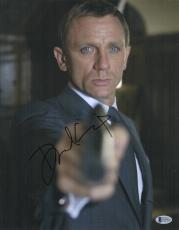 Daniel Craig Signed Auto James Bond 007 11x14 Bas Beckett Coa  5