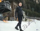 Daniel Craig Signed Auto James Bond 007 11x14 Bas Beckett Coa  7