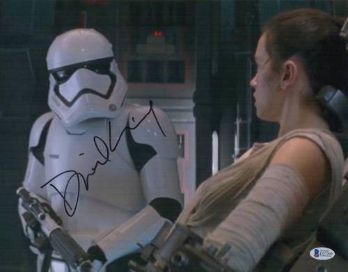 Daniel Craig Signed Auto Star Wars The Force Awakens 11x14 Bas Beckett Coa  21