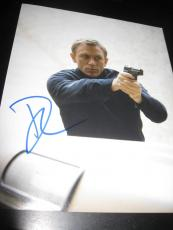 DANIEL CRAIG SIGNED AUTOGRAPH 8x10 PHOTO JAMES BOND CASINO ROYALE SPECTRE