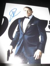 DANIEL CRAIG SIGNED AUTOGRAPH 8x10 PHOTO JAMES BOND CASINO ROYALE SPECTRE COA X2
