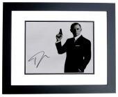 Daniel Craig Signed - Autographed 007 James Bond 11x14 inch Photo - BLACK CUSTOM FRAME - Guaranteed to pass PSA/DNA or JSA