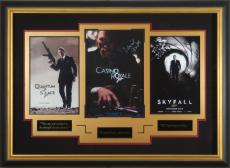 James Bond Skyfall Daniel Craig Signed Display