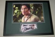 Daniel Dae Kim LOST Signed Framed 11x14 Photo Display