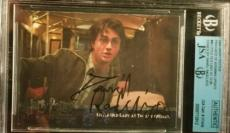 Daniel Radcliff Harry Potter 2004 AUTO Signed Authentic Autograph JSA BGS