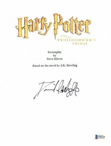 'daniel Radcliffe' Autograph Harry Potter Signed Movie Script Beckett Bas Coa 1