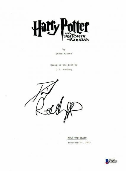 'daniel Radcliffe' Autograph Harry Potter Signed Movie Script Beckett Bas Coa 3