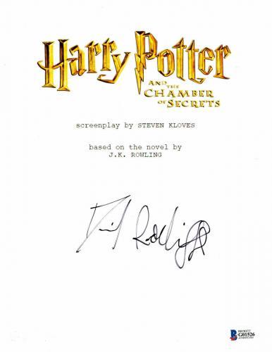Daniel Radcliffe  Autograph  Harry Potter  Signed Script Bas Beckett Coa 202
