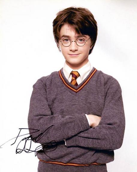 Daniel Radcliffe Autographed Signed 8x10 Harry Potter Photo AFTAL