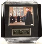 DANIEL RADCLIFFE Framed HARRY POTTER Signed 8x10 Photo JSA COA Autograph Auto