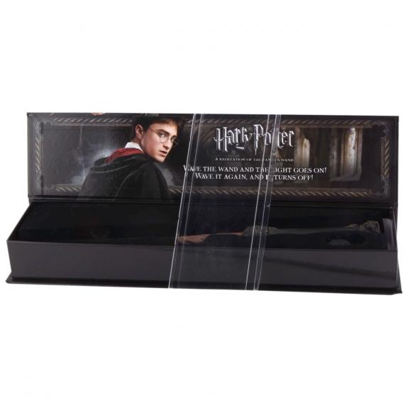 Daniel Radcliffe Harry Potter Autographed Illuminating Wand Signed in Black Ink - BAS