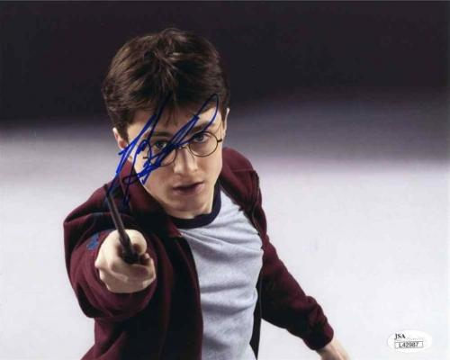 Daniel Radcliffe Harry Potter Autographed Signed 8x10 Photo Certified JSA COA