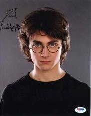 Daniel Radcliffe Harry Potter Autographed Signed 8x10 Photo Certified PSA/DNA