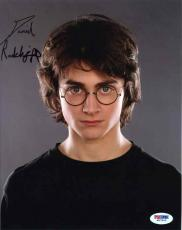 Daniel Radcliffe Harry Potter Autographed Signed 8x10 Photo Certified PSA/DNA