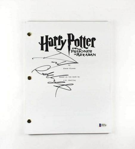 Daniel Radcliffe Harry Potter Autographed Signed Script Authentic BAS COA