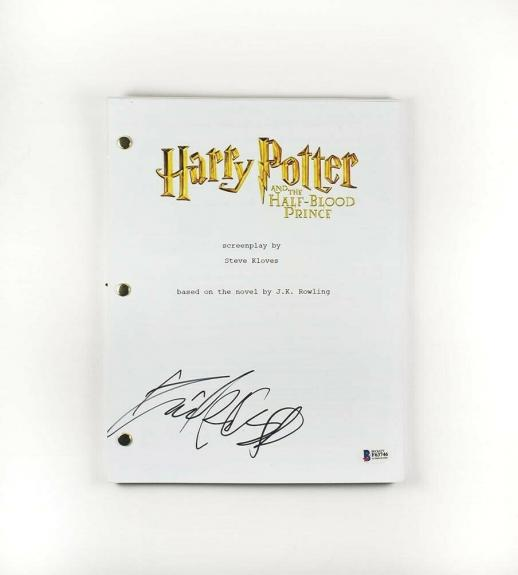 Daniel Radcliffe Harry Potter Autographed Signed Script Authentic BAS COA
