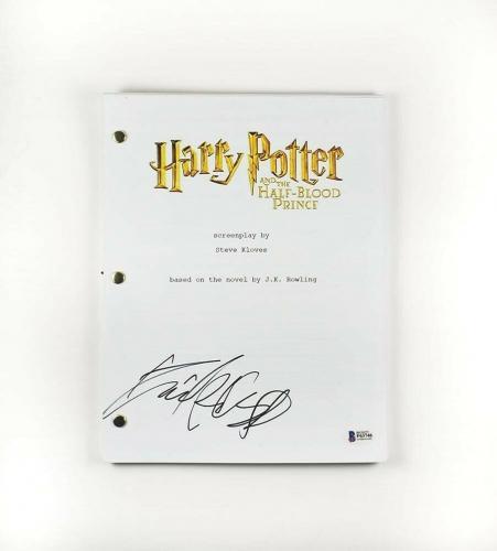 Daniel Radcliffe Harry Potter Autographed Signed Script Certified BAS COA