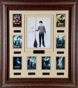"Daniel Radcliffe Harry Potter Framed Autographed 11"" x 14"" Photograph Collage - PSA/DNA"
