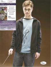 Daniel Radcliffe Harry Potter Jsa Coa Signed Autographed 8x10 Photo Rare L@@k 3