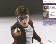 Daniel Radcliffe Harry Potter Movie Jsa Coa Signed Autographed 8x10 Photo Rare
