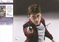 Daniel Radcliffe Harry Potter Jsa Coa Signed Autographed 9x9 Photo Rare L@@k 9