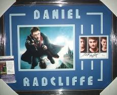 Daniel Radcliffe Harry Potter Jsa Coa Signed Autographed Matted & Framed 8x10