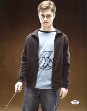 Daniel Radcliffe Harry Potter Signed 11X14 Photo PSA/DNA #Z90326