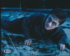 DANIEL RADCLIFFE HARRY POTTER SIGNED 8x10 PHOTO BAS AUTO BECKETT #B46096